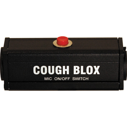 RapcoHorizon COUGH BLOX Momentary Mute Switch