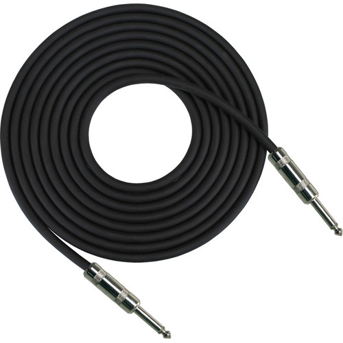 "RapcoHorizon G1 Series Guitar Cable with 2 1/4"" Connectors (25', Black)"