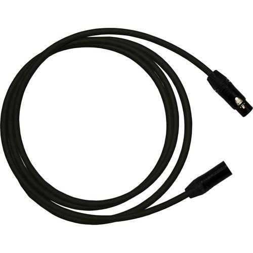 RapcoHorizon Gold PRO Microphone Cable with Neutrik XLR Female To XLR Male Connectors (10', Black)