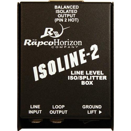 RapcoHorizon Isoline-2 Line Level ISO / Splitter Box