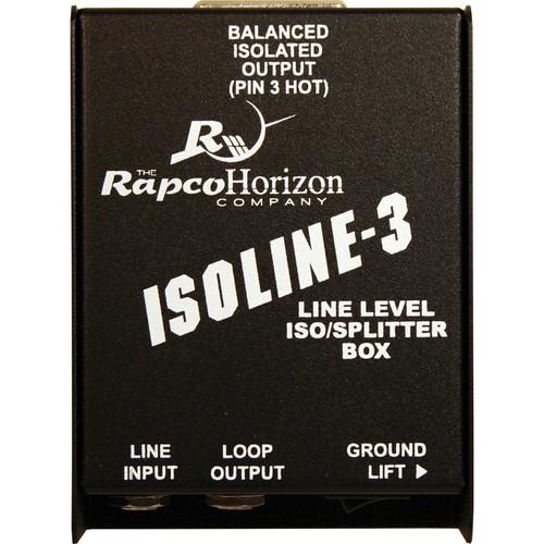 RapcoHorizon Isoline-3 Line Level ISO / Splitter Box