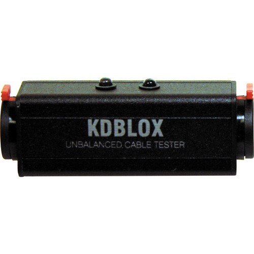 RapcoHorizon KDBLOX Unbalanced Cable Tester