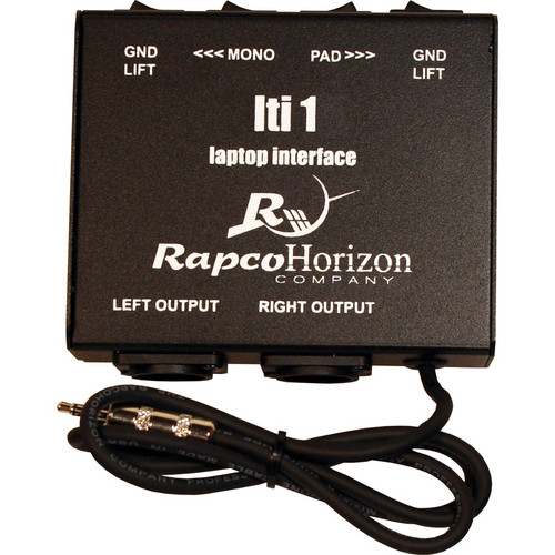 RapcoHorizon LTI-1 Laptop Interface