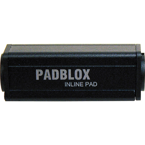 RapcoHorizon PADBLOX Inline Pad with -15 dB Attenuation