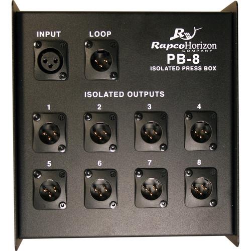 RapcoHorizon PB-8 Isolated 8-Channel Press Box