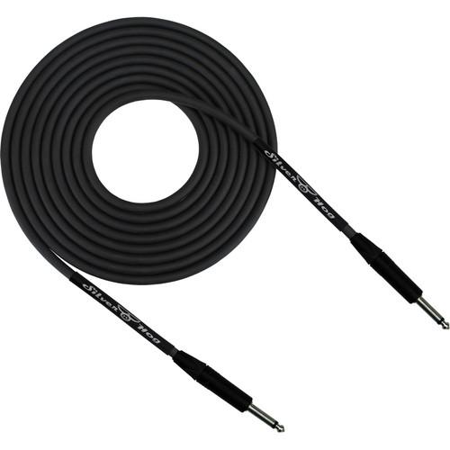 """RapcoHorizon SilverHog Guitar Cable with Neutrik 1/4"""" Connectors (15', Black)"""