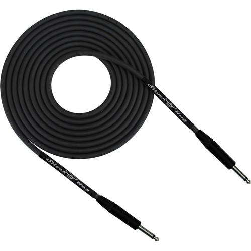 """RapcoHorizon SilverHog Guitar Cable with Neutrik 1/4"""" Connectors (25', Black)"""