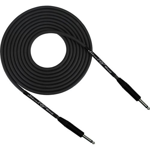 """RapcoHorizon SilverHog Guitar Cable with Neutrik 1/4"""" Connectors (8', Black)"""