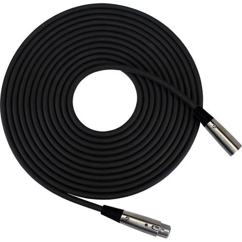 RapcoHorizon SM1-50 XLR Female to XLR Male Microphone Cable (50', Black)