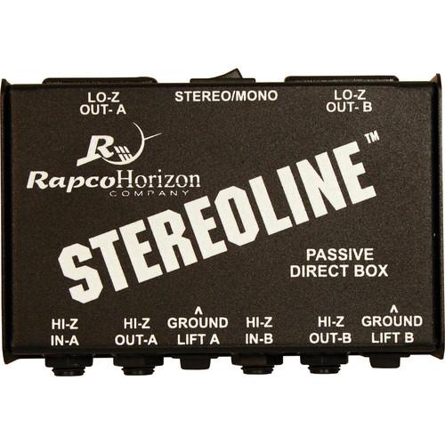 RapcoHorizon Stereoline Passive Direct Box