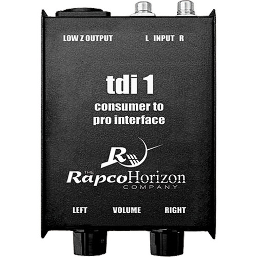 RapcoHorizon TDI-1 Consumer to Pro Interface