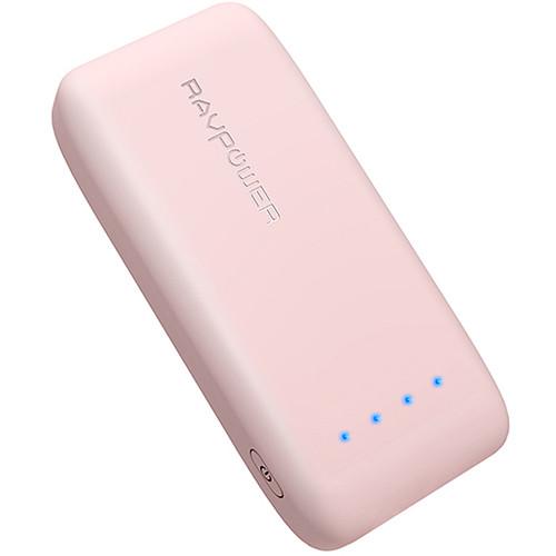 RAVPower 6700mAh Power Bank (Pink)