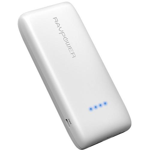RAVPower 12,000mAh External Battery Pack (White)