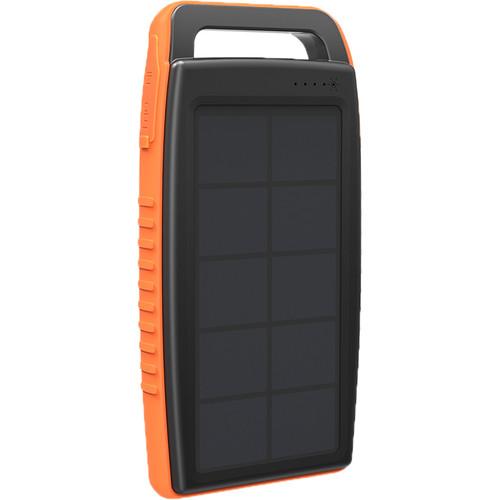 RAVPower RP-PB003 15000mAh Outdoor Solar Power Bank (Orange,Black)