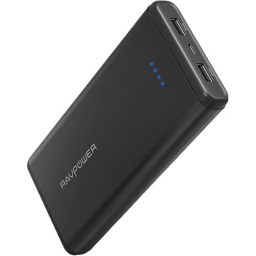 RAVPower 20,000mAh Dual iSmart 2.0 USB Battery Pack