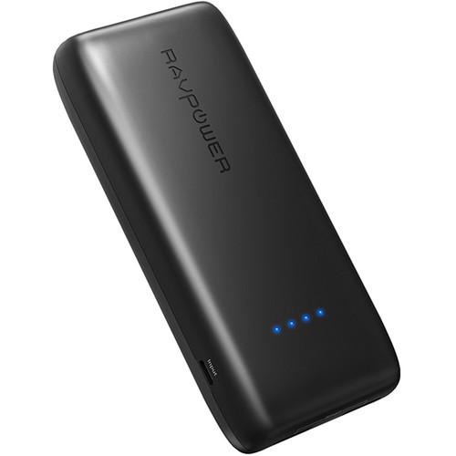RAVPower 12,000mAh External Battery Pack (Black)