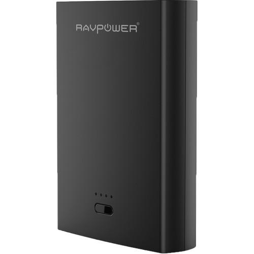 RAVPower RP-PB071 10400mAh Power Bank (Black)