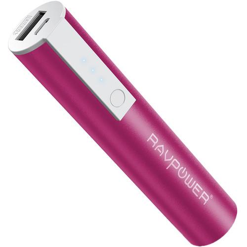 RAVPower Luster Mini 3350mAh External Battery Pack (Pink)