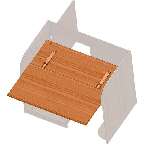 Raxxess Side Shelf for Free-Standing ECR Elite Converta Rack (Cherry)