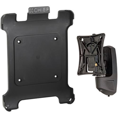 Raxxess K0W1I2B Kontour Pitch/Pivot Flush Mount with Portable iPad Interface Bracket (Black)