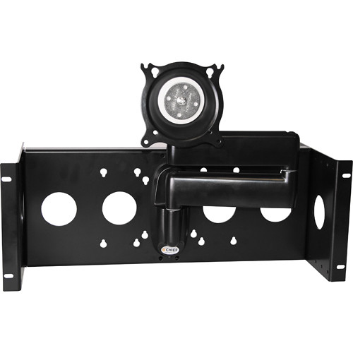 "Raxxess Articulating Rack-Monitor Mount for Monitors Up to 17"" Wide"