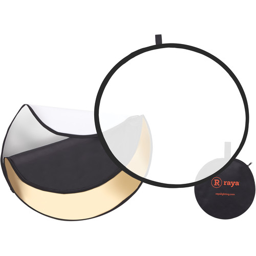 "Raya 5-in-1 Collapsible Reflector Disc (22"")"