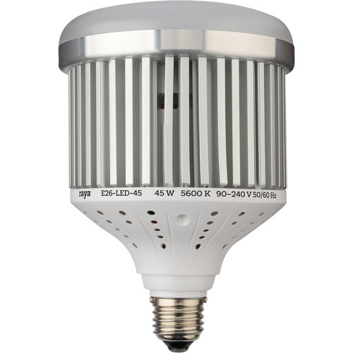 Raya 45 Watt LED Bulb With E26 Base