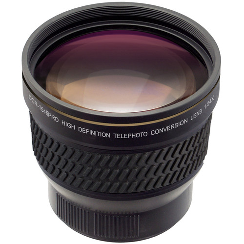 Raynox DCR-1545PRO 1.54x HD Telephoto Conversion Lens (52mm)