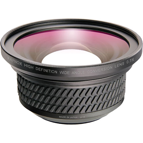 Raynox HD-7049PRO Wide Angle Conversion Lens 0.7X for Panasonic Camcorders