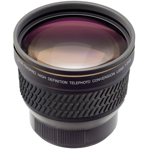 Raynox DCR-1542 1.54x High-Definition Telephoto Conversion Lens