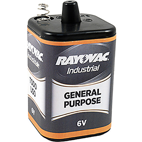 RAYOVAC 6V General-Purpose Lantern Battery with Spring Terminals