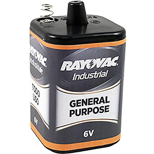 RAYOVAC 6V Alkaline General Purpose Lantern Battery (Spring Terminals)