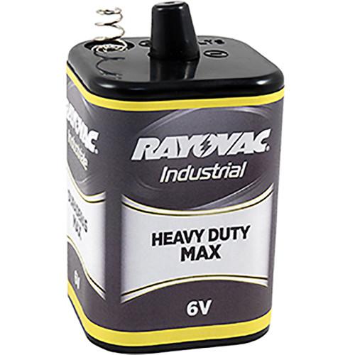 RAYOVAC 6V Heavy-Duty-Max Lantern Battery with Spring Terminals