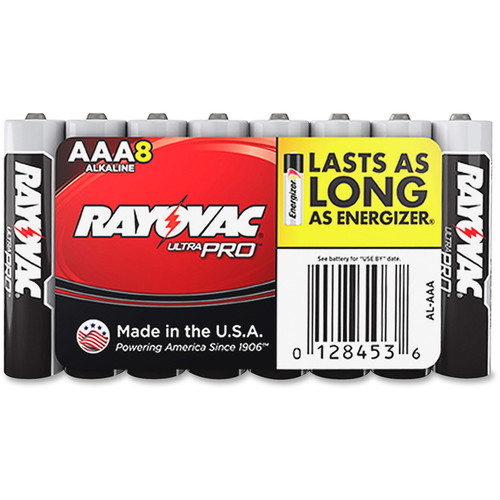RAYOVAC AAA Alkaline Battery (Shrink-Wrapped, 8-Pack)