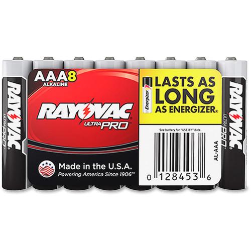RAYOVAC AAA Alkaline Battery (8-Pack)