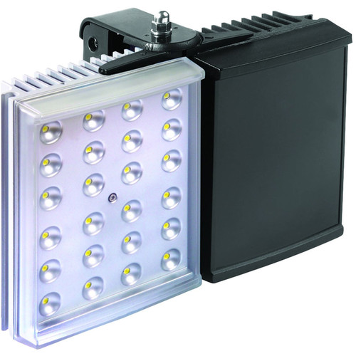 Raytec HYBRID 200 White Light IR Illuminator with Standard Power Supply Unit (10°, Black / Silver)