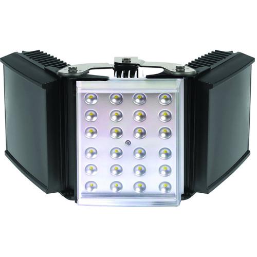 Raytec HYBRID 300 White Light IR Illuminator with Standard Power Supply Unit (120°, Black / Silver)