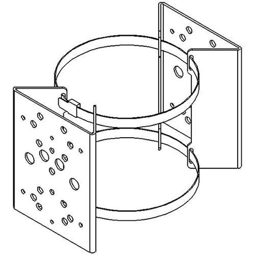 Raytec PBC-2 Pole Bracket Clamp for Two RAYMAX/RAYLUX Illuminators