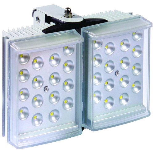 Raytec RAYLUX 100 White-Light LED Illuminator with Adaptive Illumination (50 to 100°, Silver)