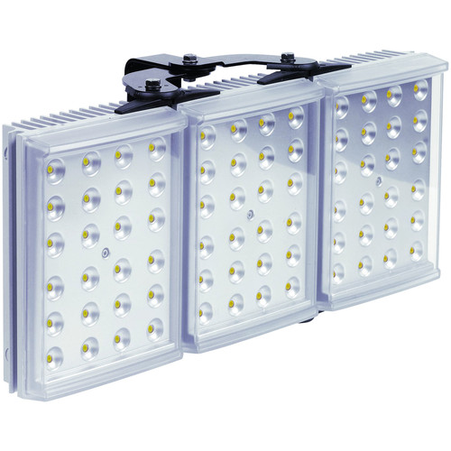 Raytec RAYLUX 300 White-Light LED Illuminator with Adaptive Illumination (30 to 90°, Silver)