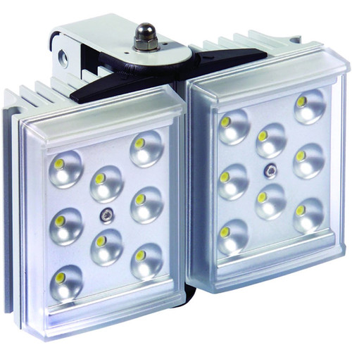 Raytec RAYLUX 50 White-Light LED Illuminator with Adaptive Illumination (10 to 20°, Silver)