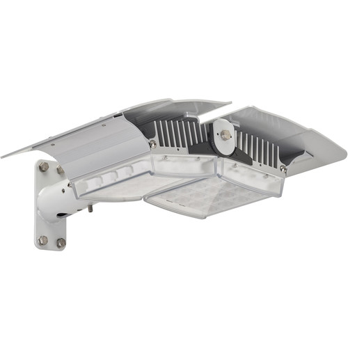 Raytec RAYLUX Urban UBA-48 Multi-Purpose White-Light Dual-Panel LED Illuminator with Power Supply (50 to 100°, Silver)