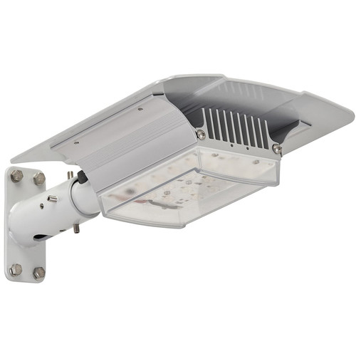 Raytec RAYLUX Urban White Light Single-Head LED Illuminator with Standard Power Supply Unit (120° Horizontal x 80° Vertical, Silver)
