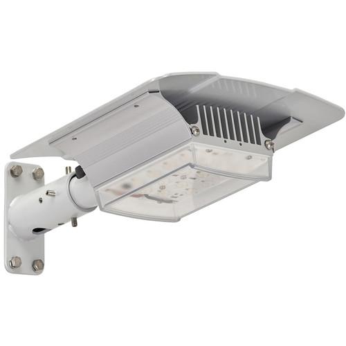 Raytec RAYLUX Urban White Light Single-Head LED Illuminator with Standard Power Supply Unit (80 x 120°, Silver)