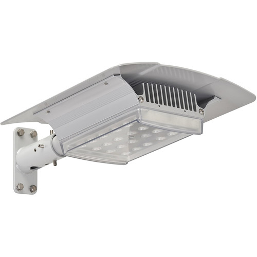Raytec RAYLUX Urban White Light Single-Head LED Illuminator with Standard Power Supply Unit (120 x 80° (H x V), Silver)