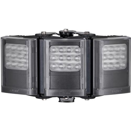 Raytec VAR2-I4-3 Long-Range Triple-Panel Semi-Covert IR Illuminator (850nm, Black)
