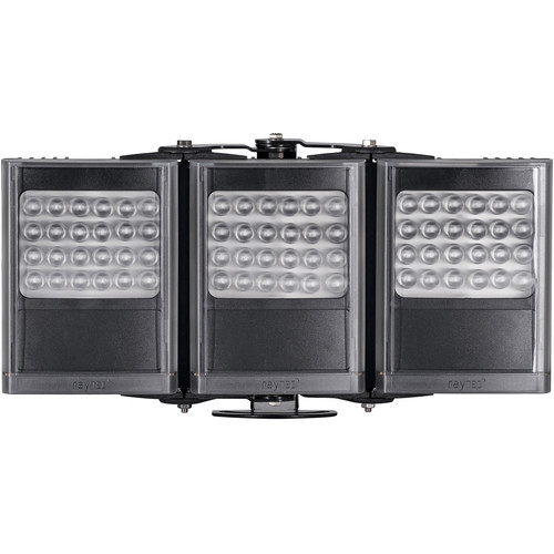 Raytec VAR2-I8-3-C Long-Range Triple-Panel Covert IR Illuminator (940nm, Black)