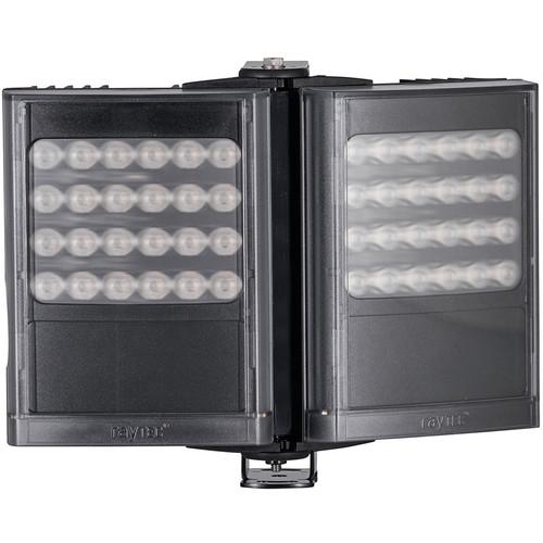 Raytec VARIO2 IP PoE i8 Long-Range Dual-Panel Semi-Covert Infrared Network Illuminator (850nm, Black)