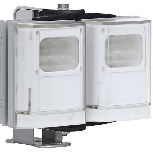 Raytec VARIO2 Medium Range Double Panel White Light Illuminator with Adaptive Illumination (Silver)