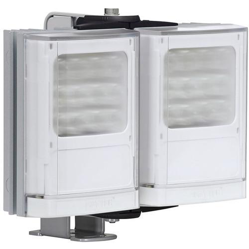 Raytec VARIO2 Medium-Range Double-Panel White Light Illuminator with Adaptive Illumination (Silver)